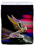 1935 Chevrolet Hood Ornament 2 Duvet Cover