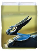 1935 Chevrolet Sedan Hood Ornament 2 Duvet Cover