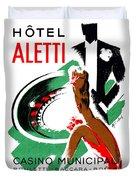 1935 Hotel Aletti Casino Algeria Duvet Cover