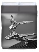 1935 Pontiac Sedan Hood Ornament 4 Duvet Cover