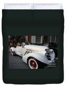 1936 Auburn Super Charger Duvet Cover