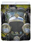 1936 Bentley 4.5 Litre Lemans Rc Series Duvet Cover