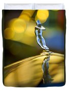 1936 Cadillac Hood Ornament Duvet Cover