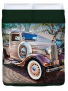 1936 Chevrolet Pick Up Truck Painted    Duvet Cover