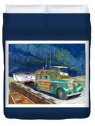 1936 Hispano Suiza Shooting Brake Duvet Cover