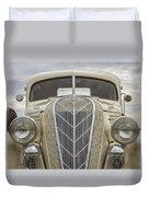 1936 Hudson Terraplane Truck Duvet Cover