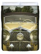 1936 Mercedes Benz Duvet Cover