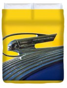 1936 Pontiac Hood Ornament 2 Duvet Cover