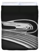 1936 Pontiac Hood Ornament 5 Duvet Cover by Jill Reger