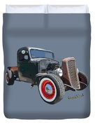 1936 Rat Rod Chevy Pickup Duvet Cover