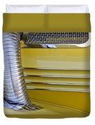 1937 Cord 812 Phaeton Hood Fender Duvet Cover