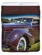 1937 Cord Phaeton Duvet Cover