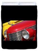 1937 Desoto Front-7262 Duvet Cover
