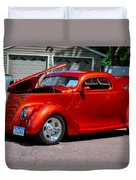 1937 Ford Coupe Duvet Cover