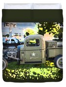 1938 Chevy Pick Up Truck Rat Rod Duvet Cover