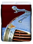 1938 Dodge Ram Hood Ornament 3 Duvet Cover by Jill Reger