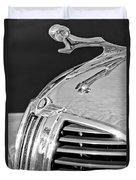 1938 Dodge Ram Hood Ornament 4 Duvet Cover
