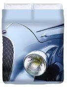1938 Talbot-lago 150c Ss Figoni And Falaschi Cabriolet Headlight - Emblem Duvet Cover