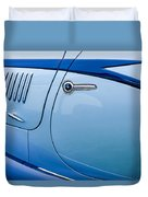 1938 Talbot-lago 150c Ss Figoni And Falaschi Cabriolet Side Door Handle Duvet Cover