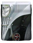 1939 Aston Martin 15-98 Abbey Coachworks Swb Sports Suspension Control Duvet Cover