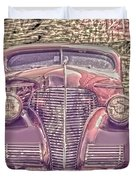 1939 Chevy Immenent Front Color Duvet Cover