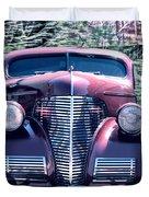 1939 Chevy Immenent Front Original Duvet Cover