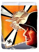 1939 German Luftwaffe Recruiting Poster - Color Duvet Cover
