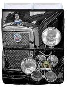 1939 Jaguar S100 Roadster Replica Duvet Cover