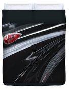 1939 Lincoln Zephyr Emblem Duvet Cover