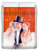 1940 - Arrow Shirts Hans Flato Advertisement - 1940 Duvet Cover
