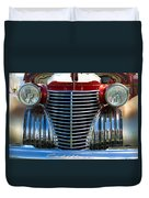 1940 Cadillac Coupe Front View Duvet Cover