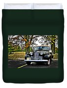 1940 Cadillac Coupe Duvet Cover