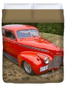 1940 Chevrolet 2 Door Sedan Duvet Cover
