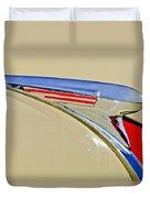 1940 Chevrolet Pickup Hood Ornament 2 Duvet Cover