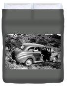 1940 Chevrolet Special Deluxe 4 Door Duvet Cover