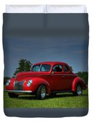 1940 Ford Coupe Duvet Cover