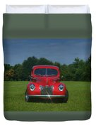 1940 Ford Deluxe  Duvet Cover