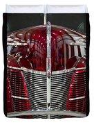 1940 Ford V8 Grill  Duvet Cover