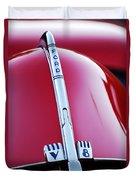 1940 Ford V8 Hood Ornament -323c Duvet Cover