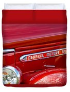 1940 Gmc Side Emblem Duvet Cover