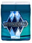 1940 International Emblem Duvet Cover