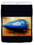 1940s Harley Tank Duvet Cover