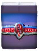 1941 Buick Eight Special Emblem Duvet Cover