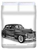 1941 Cadillac Fleetwood Sedan Duvet Cover