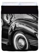 1941 Packard 110 Deluxe -1092bw Duvet Cover