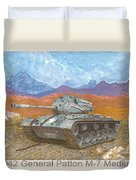 1941 W W I I Patton Tank Duvet Cover