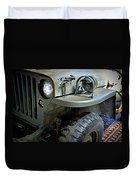 1942 Ford U.s. Army Jeep Ll Duvet Cover