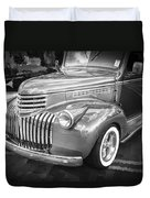 1946 Chevrolet Sedan Panel Delivery Truck Bw Duvet Cover