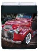 1946 Chevrolet Sedan Panel Delivery Truck  Duvet Cover
