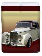 1947 Bentley M K  5   G T X  Duvet Cover